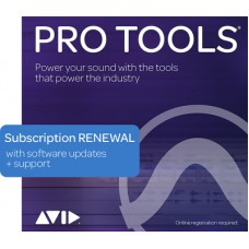 Pro Tools 1 Year Subscription RENEWAL