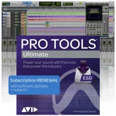 Pro Tools ULTIMATE 1 Year Subscription RENEWAL