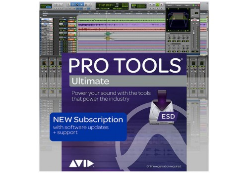 Pro Tools ULTIMATE 1 Year Subscription